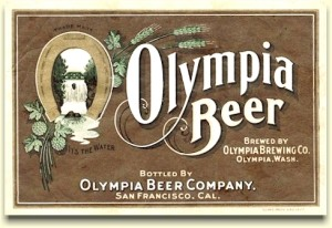 Olympia Beer Co. SF label
